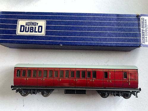 32093 B.R. MAROON BRAKE 3RD - BOXED - 3 RAIL