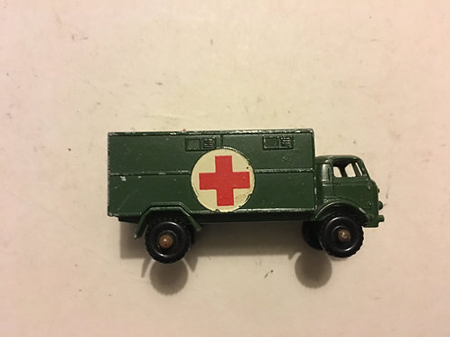 LESNEY No 63 SERVICE AMBULANCE FORD 3 TON 4X4