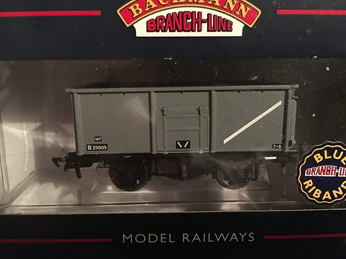 37-250C 16T STEEL MINERAL WAGON GREY NO TOP FLAP