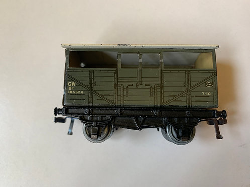 32020 GWR D1 CATTLE TRUCK 106324 (4 WINDOWS)