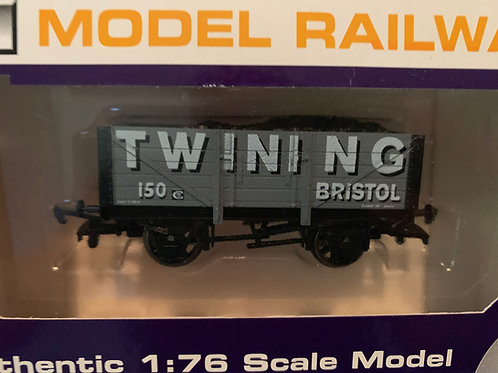B618 - 5 PLANK WAGON TWINING - BRISTOL