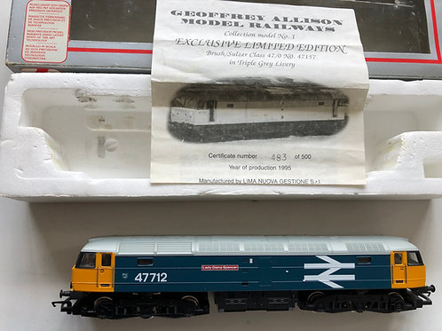 305389A3 CLASS 47 BR DIESEL LOCO 47712 - LADY DIANA SPENCER