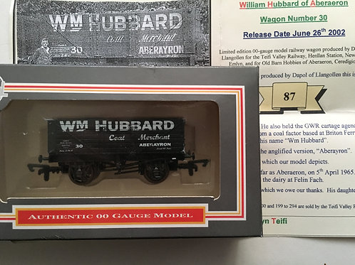 WM HUBBARD 7 PLANK WAGON - LTD EDITION