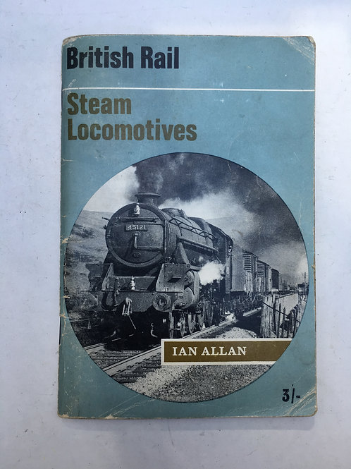 IAN ALLAN - STEAM LOCOMOTIVES - 1966