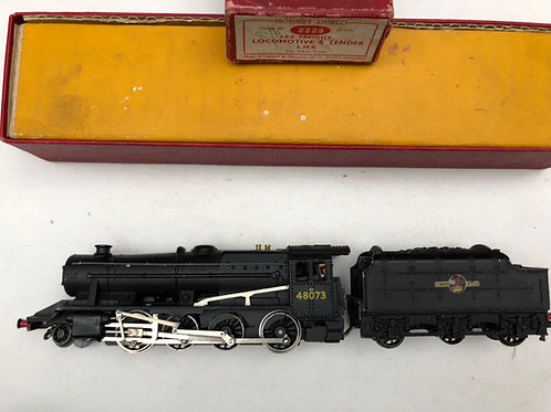2225 2-8-0 L.M.R. BLACK FREIGHT LOCOMOTIVE 48073 & TENDER - BOXED