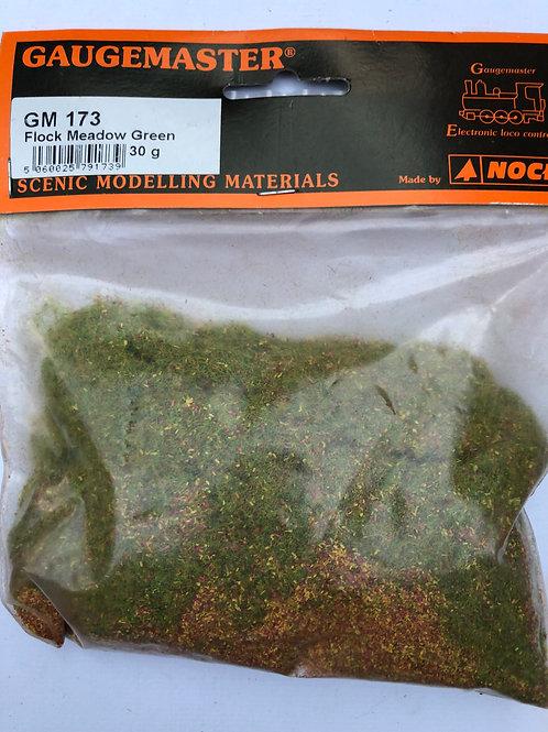 GAUGEMASTER GM173 FLOCK MEADOW GREEN 30g