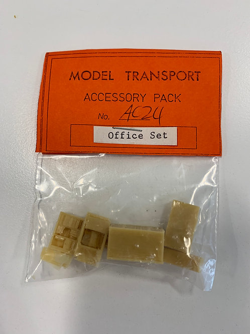 MODEL TRANSPORT - AC24 OFFICE SET