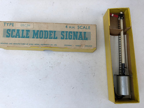 SCALE MODEL - ERC/H HOME SINGLE ARM SIGNAL