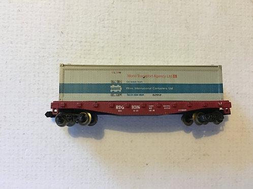 WORLD TRANSPORT AGENCY BOX CAR 91306