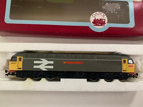 D14 CLASS 56 RAILFREIGHT GREY WEST YORKSHIRE ENTERPRISE DIESEL 56075