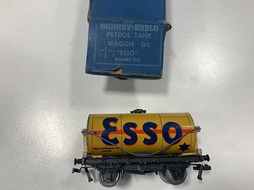32081 D1 PETROL TANK WAGON ESSO BUFF - BOXED 4/1951