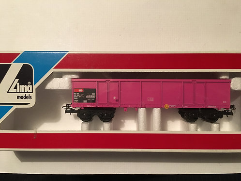 309045 PINK EXTENDED 8 WHEEL ORE WAGON