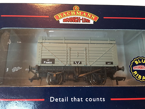 37-175 7 PLANK WAGON WITH COKE RAIL BR (PO)