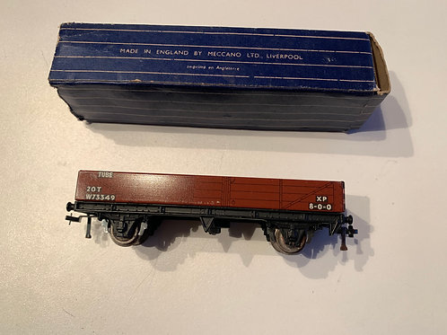 32076 20T TUBE WAGON W73349 BOXED - 3 RAIL