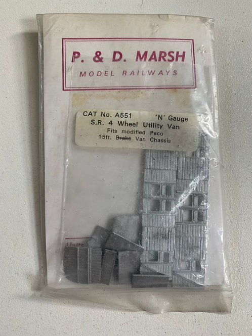 P&D MARSH A551 SR. 4 WHEEL UTILITY VAN