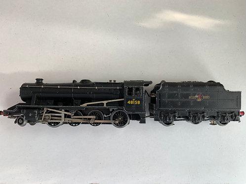LT25 L.M.R. CLASS 8F BR BLACK 2-8-0 LOCOMOTIVE 48158
