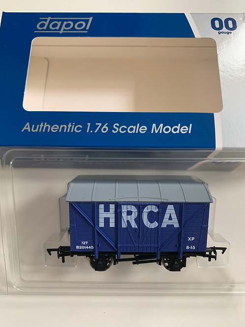 HRCA BLUE VENT VAN - LIMITED EDITION H.R.C.A.