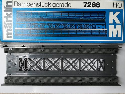 MARKLIN K M 7268 STRAIGHT RAMP SECTION