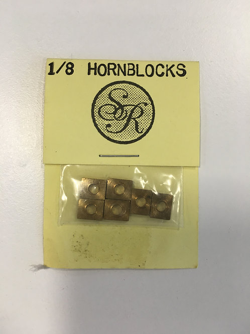 RON CHAPMAN - SR 1/8 HORNBLOCKS (6)