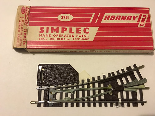 2751 SIMPLEC HAND OPERATED LEFT HAND POINT BOXED