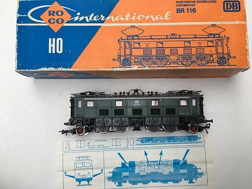ROCO 4143 DB 116-019-1 BR 116 ELECTRIC LOCOMOTIVE