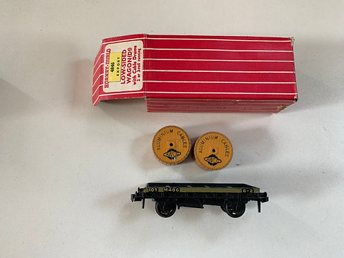 4846 EXPORT (4646) LOW SIDED WAGON WITH ALUMINIUM CABLE DRUMS - BOXED