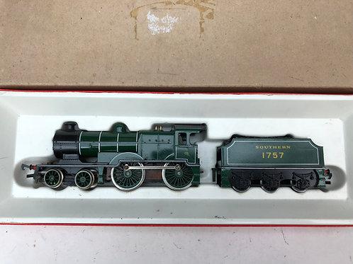 R.350 SR GREEN CLASS L1 LOCOMOTIVE 1757 & TENDER