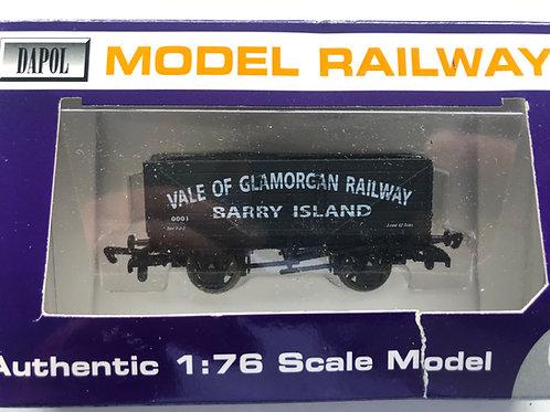 7 PLANK WAGON VALE OF GLAMORGAN RAILWAY - BARRY ISLAND
