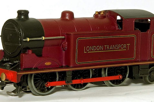 EDL7 3-RAIL RED ROD SPECIAL EDITION LONDON TRANSPORT RED 0-6-2 TANK LOCOMOTIVE