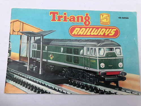 TRI-ANG  RAILWAYS TT GAUGE CATALOGUE - 4TH EDITION 1960