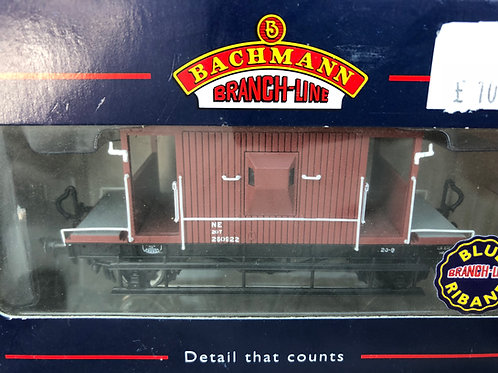 37-527 20 TON BRAKE VAN FITTED LNER OXIDE