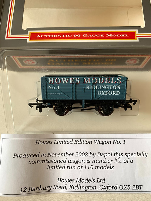 7 PLANK WAGON HOWES MODELS OXFORD LIMITED EDITION