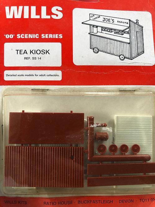 WILLS FINECAST - SS 14 TEA KIOSK