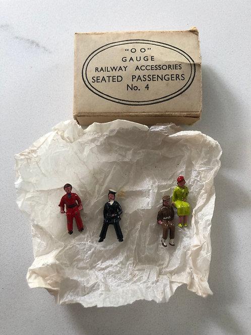 WARDIE MASTER MODELS - No. 4 SEATED PASSENGERS