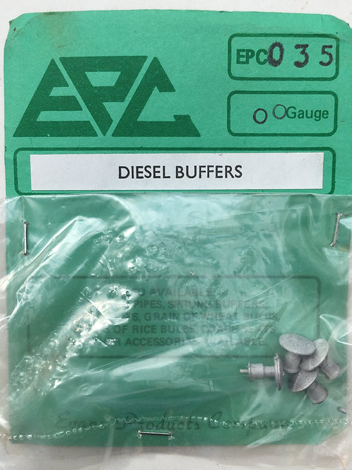 EPC - 035 DIESEL BUFFERS (set of 4)