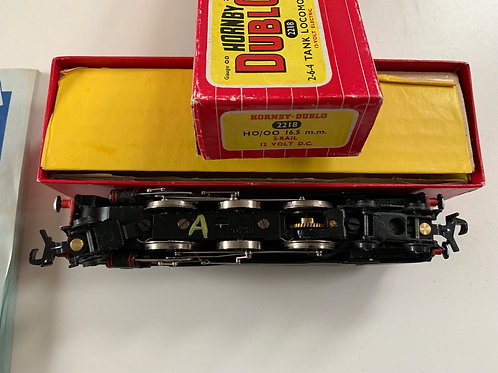 2218 2-6-4 BR BLACK TANK LOCOMOTIVE 80033 - BOXED