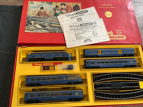 RS.14 TRANSCONTINENTAL TWIN DIESEL PASSENGER ELECTRIC TRAIN SET