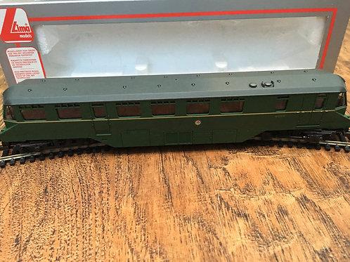 205150A5 GREEN RAIL CAR W30W LOCOMOTIVE