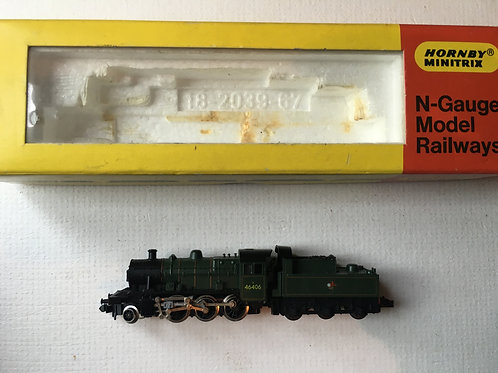 N.213 2-6-0 GREEN TENDER LOCOMOTIVE No 46406