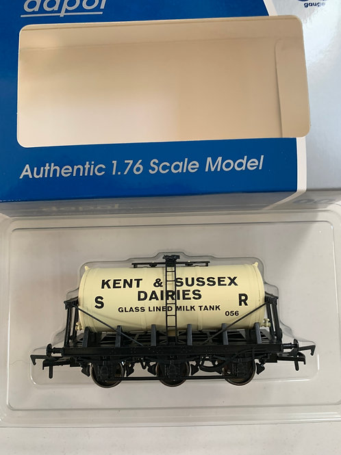 KENT & SUSSEX DAIRIES MILK TANK WAGON - LIMITED EDITION