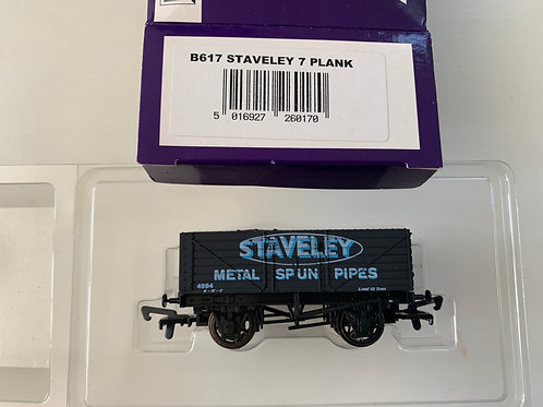 B617 - 7 PLANK WAGON STAVELEY