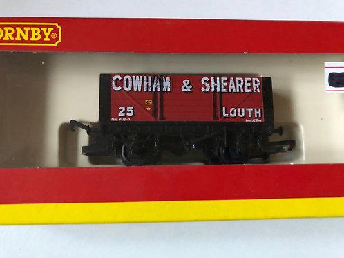 R.6116 7 PLANK WAGON COWHAM & SHEARER No 25 - LOUTH