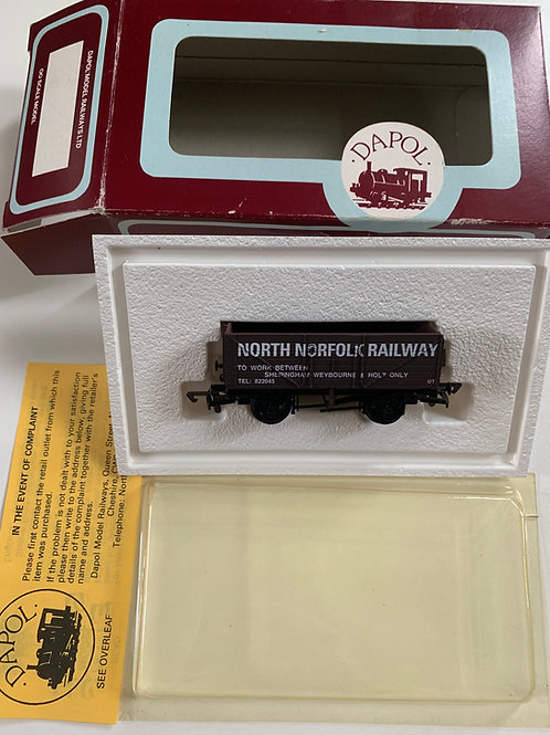 7 PLANK WAGON NORTH NORFOLK RAILWAY