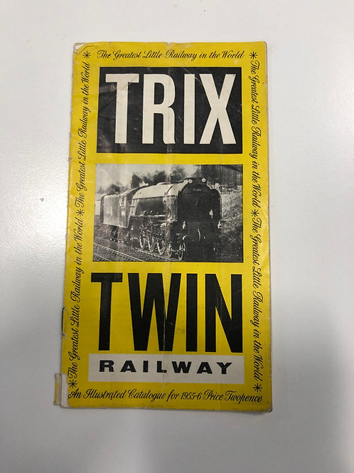 TTR TRIX TWIN RAILWAY - 1955/56 CATALOGUE