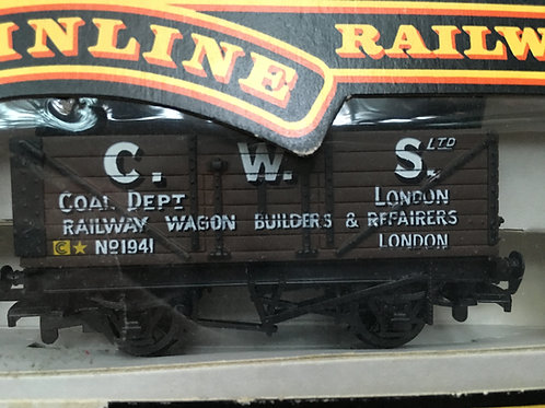 37-129 7 PLANK WAGON C.W.S. LONDON
