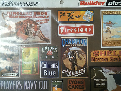 BUILDER PLUS - BP32 SIGNS AND POSTERS