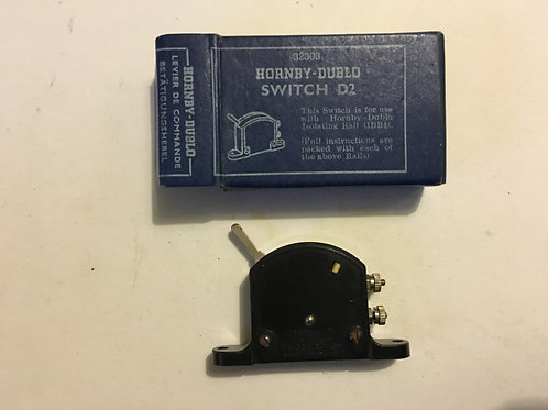 32303 D2 BLACK LEVER SWITCH BOXED