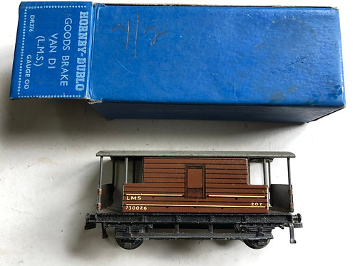 DR376 D1 GOODS BRAKE VAN LMS 6/1950