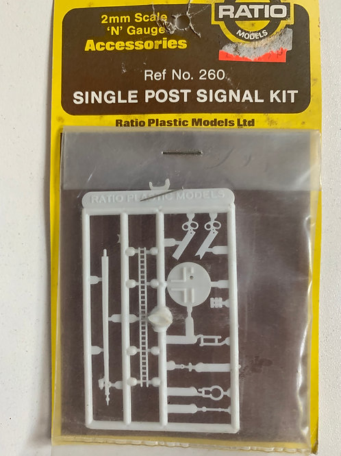 260 SINGLE POST SIGNAL KIT