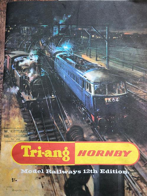 TRI-ANG  RAILWAYS CATALOGUE - 12th EDITION 1966